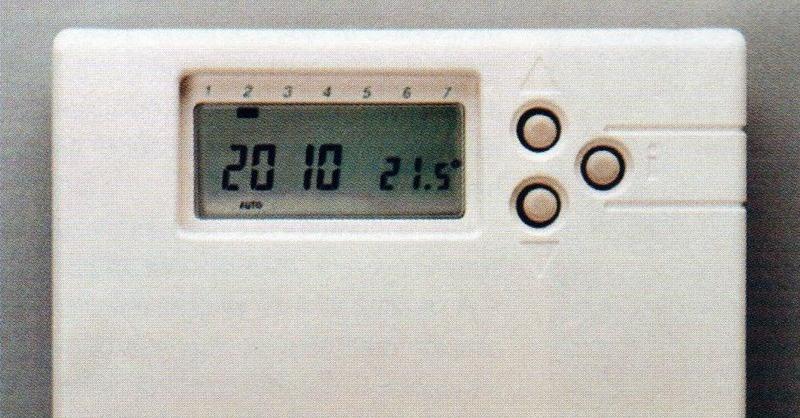 Hőmérséklet-szabályzás Szobatermosztátok I.