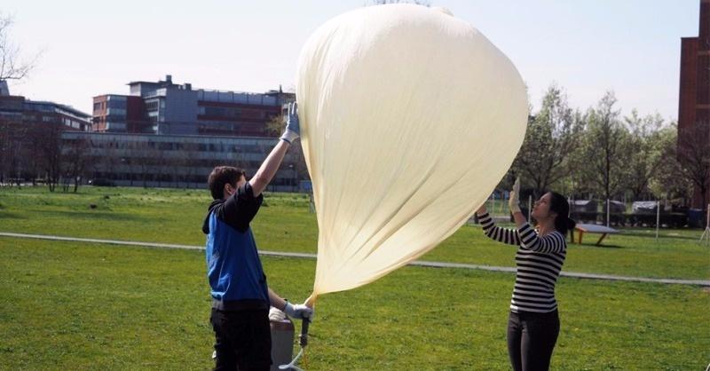 Ballonos mérések a sztratoszférában