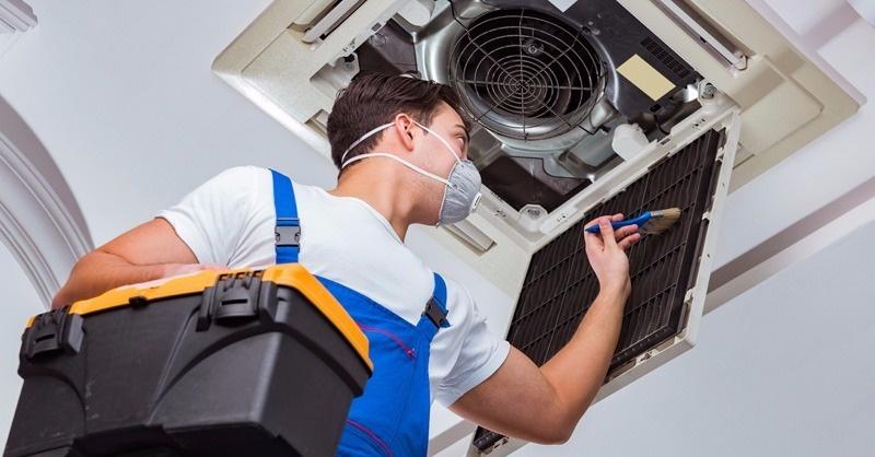A klíma- és fan-coil berendezések karbantartása, tisztítása