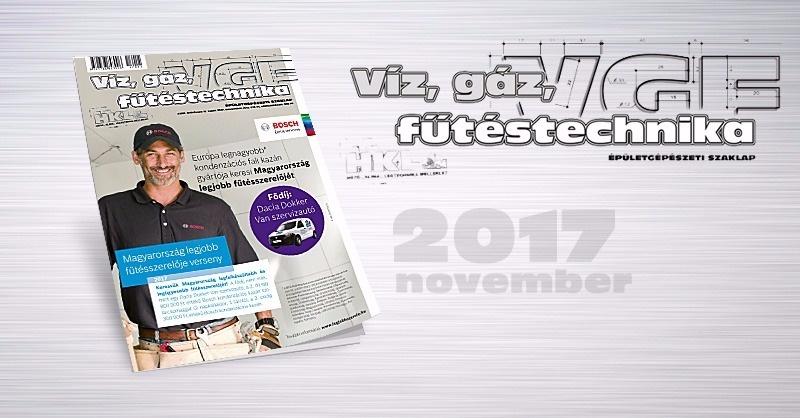 Ízelítő a VGF novemberi lapszámából