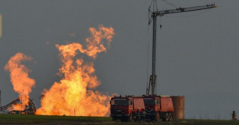 Végre eloltották a nagymajtényi gázkútnál 18 napja égő tüzet
