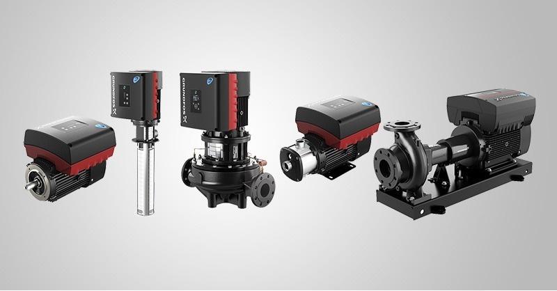 Grundfos szivattyúk új IE5 MGE motorral