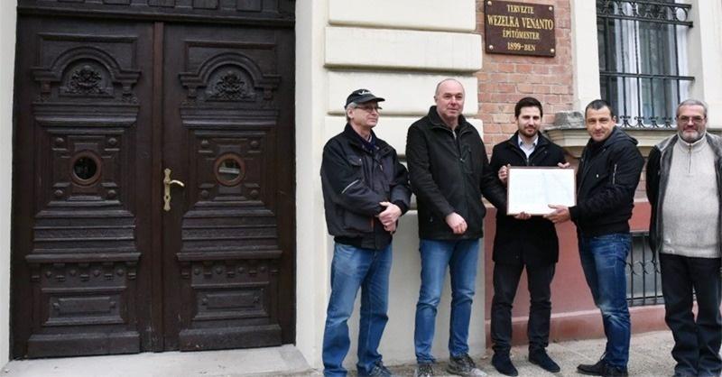 Monarchia korabeli épületet avattak Óbudán
