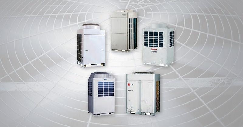Változó hűtőközegáramú hőszivattyús berendezések