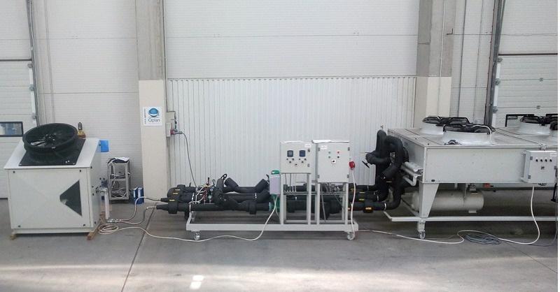 Ammóniás kompakt hűtőberendezés