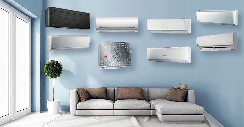 Kb. 3,5 kW-os hűtő-fűtő okos split klímák