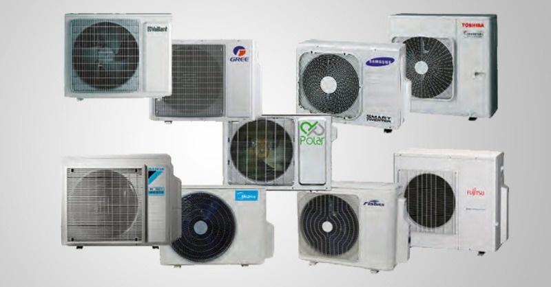 Max. 8 kW hűtőteljesítményű multisplit klíma kültéri egységek