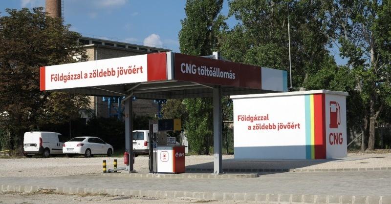 CNG-töltőállomást telepített Székesfehérváron az E.ON