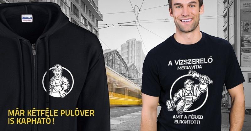 Szerelői pólók és pulóverek 4 új mintával a VGF Shopban
