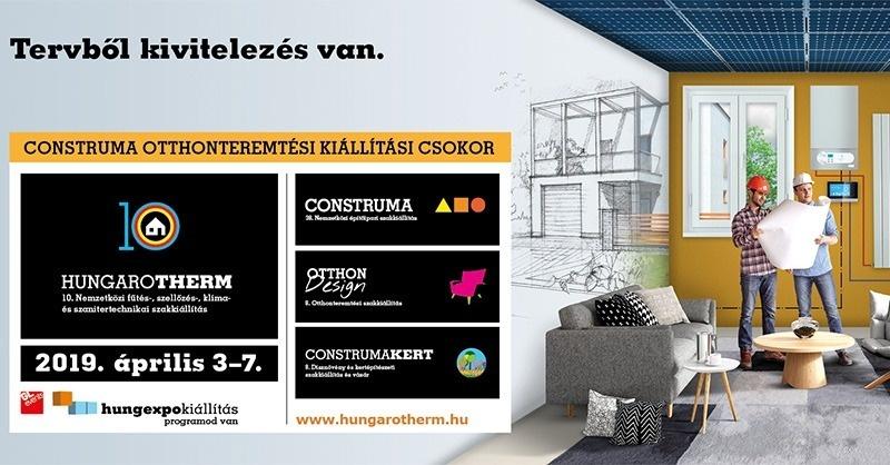 Jubileumi HUNGAROTHERM 2019-ben