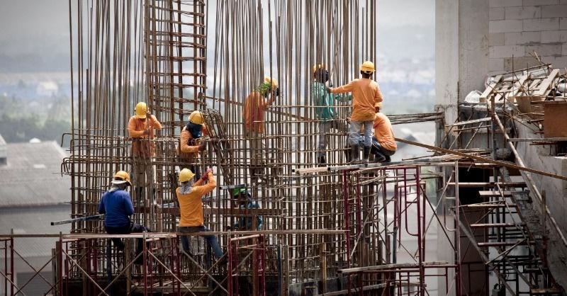2018 második felében csökkent az építőipar lendülete