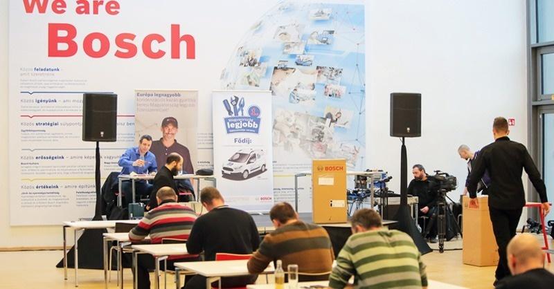 A Bosch megtalálta Magyarország legjobb fűtésszerelőjét