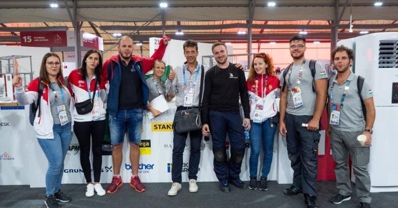 Magyar sikerek a szakmák olimpiáján