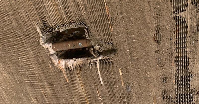 Hűtőventilátorok a tetőn