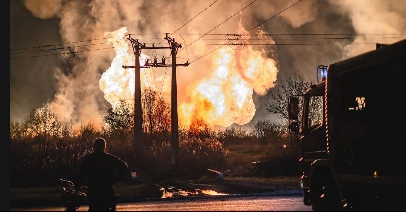 Óriási gázrobbanás Püspökladányban