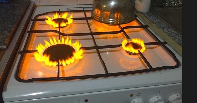 Mitől lehet sárga a gázláng?