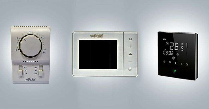 Fan-coil termosztátok
