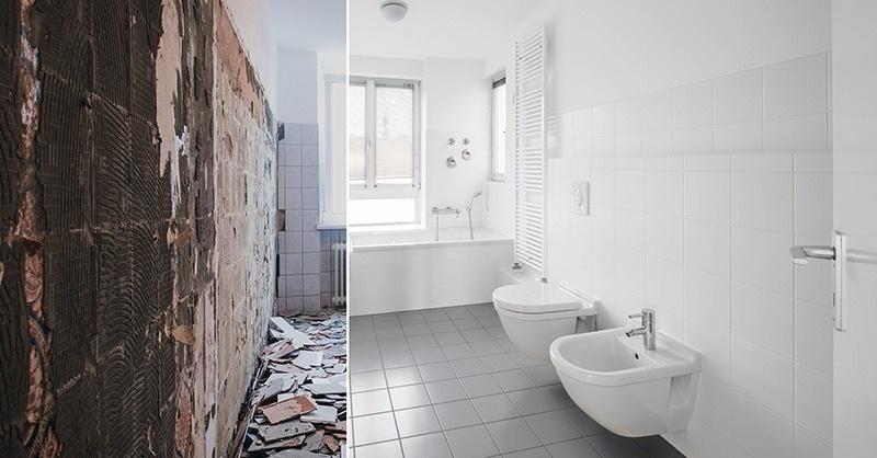 Fürdőszobák komplett felújítása