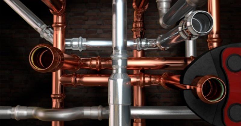 Innovatív Conex Bänninger préskötéses csőrendszerek