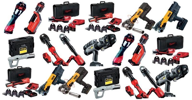 Akkumulátoros présgépek