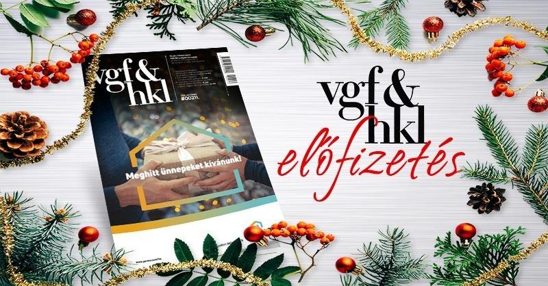 Ajándékozzon karácsonyra VGF&HKL előfizetést!