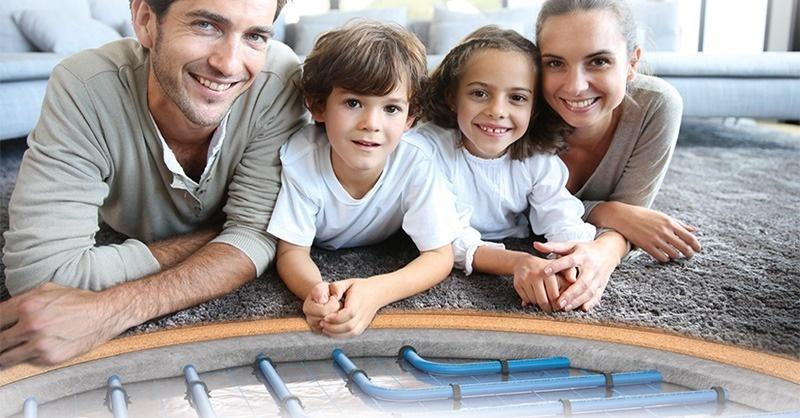 Felületfűtés: padló, fali és kültéri megoldások