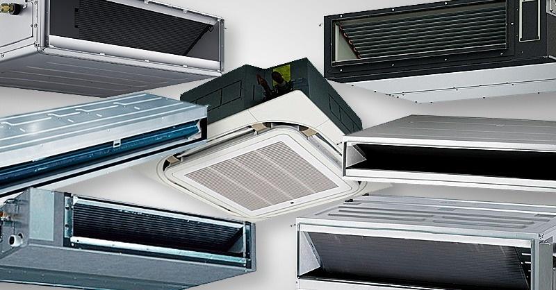 Hőszivattyús, 7 kW hűtőteljesítményű, légcsatornázható split klímák
