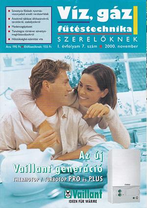 VGF&HKL szaklap 2000. november