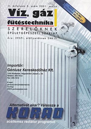 VGF&HKL szaklap 2001. május