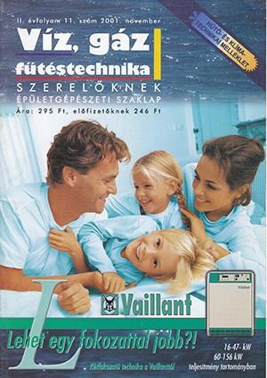 VGF szaklap 2001. november