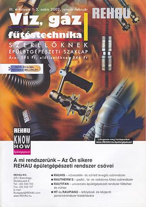 VGF&HKL szaklap 2002. január-február