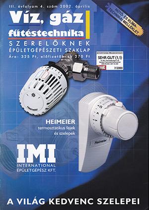 VGF&HKL szaklap 2002. április