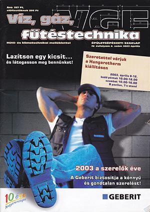 VGF szaklap 2003. április