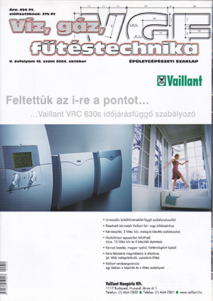 VGF szaklap 2004. október