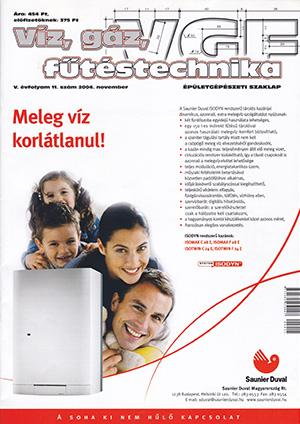 VGF&HKL szaklap 2004. november