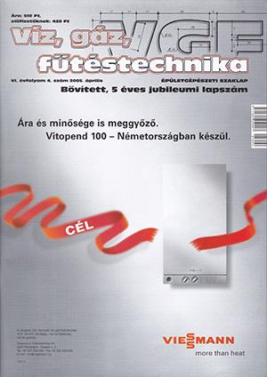 VGF szaklap 2005. április