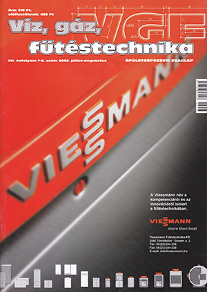 VGF szaklap 2006. július-augusztus