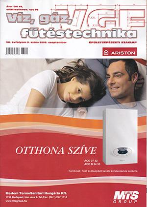 VGF&HKL szaklap 2006. szeptember
