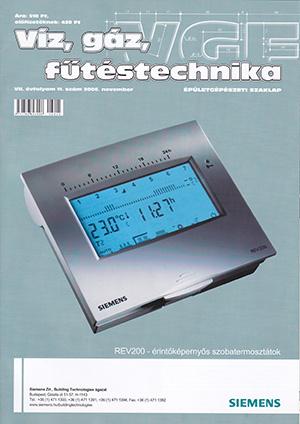 VGF&HKL szaklap 2006. november
