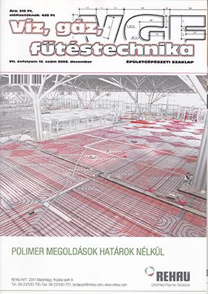 VGF&HKL szaklap 2006. december