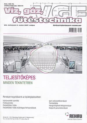 VGF szaklap 2007. május