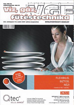VGF szaklap 2007. július-augusztus