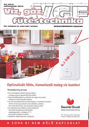 VGF&HKL szaklap 2007. október