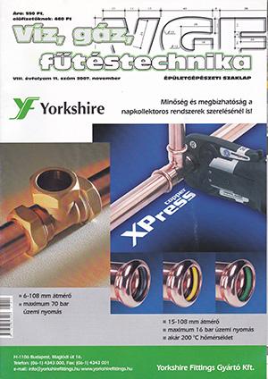 VGF&HKL szaklap 2007. november