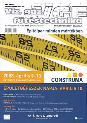 VGF&HKL szaklap 2008. január-február