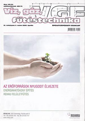 VGF&HKL szaklap 2008. április