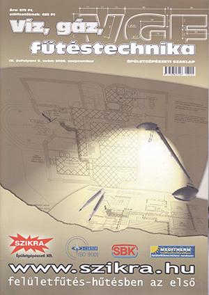 VGF szaklap 2008. szeptember