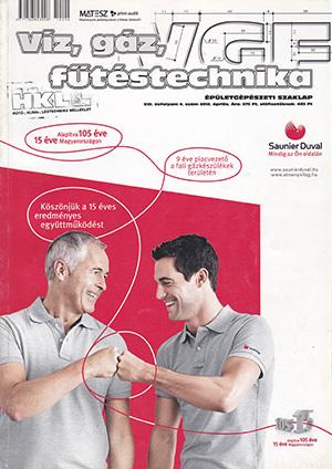 VGF&HKL szaklap 2012. április