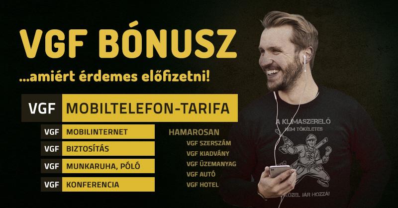 VGF mobiltelefon-tarifák