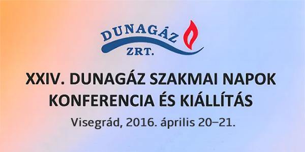 XXIV. DUNAGÁZ Szakmai Napok Konferencia és Kiállítás